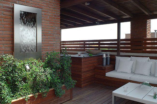 Diseño Terrazas, Diseño Exteriores, Decoración Exteriores Casa - diseo de exteriores