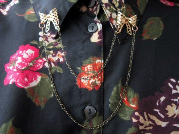 DIY Collar brooch