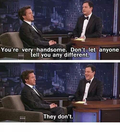 Robert Downey Jr, love this man♡