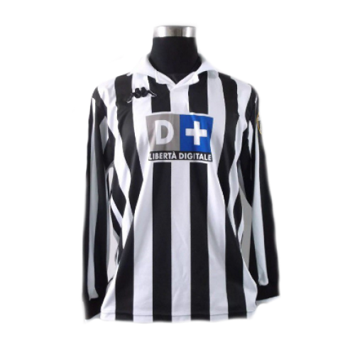 Zidane 21 Juventus Home Long Sleeve 1998 1999 Classic Football Shirts Retro Football Shirts Football Shirts