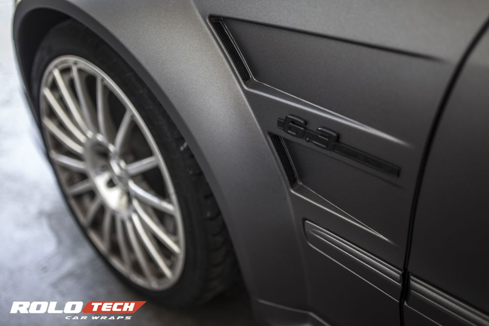 Clk63 Amg Wrapped With Avery Dennison Matte Metallic Charcoal By Rolotech Car Wraps Car Wrap Vinyl Wrap Colors Amg