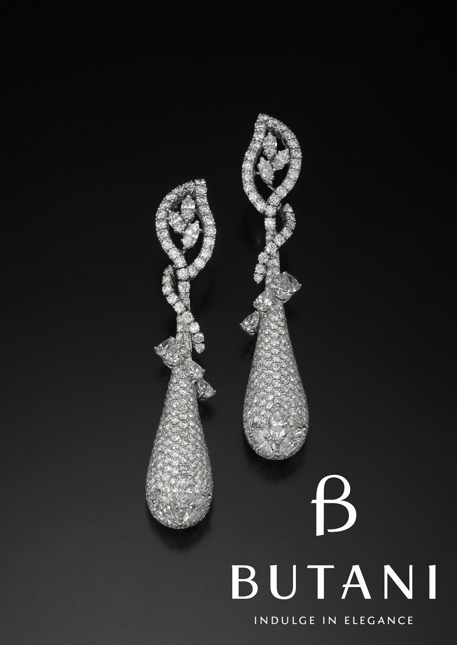 A pair of sparklers that embodies grace and elegance #Butani #ButaniJewellery…