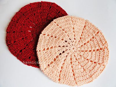 Simple Beret Crochet Pattern Crochet Pinterest Berets Crochet