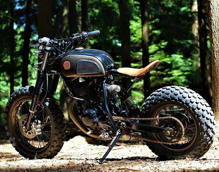 Scramblerstrackers Yamaha Tw By Twinthing Motorcycles