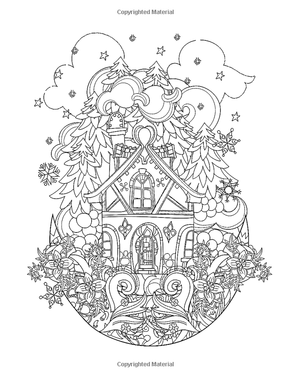 Merry Christmas Coloring Books For Adults A Beautiful Colouring Book With Christmas Designs Perfect Gi Coloring Books Coloring Pages Christmas Coloring Pages