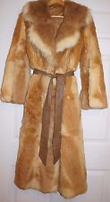 Abrigo de piel de vicuna