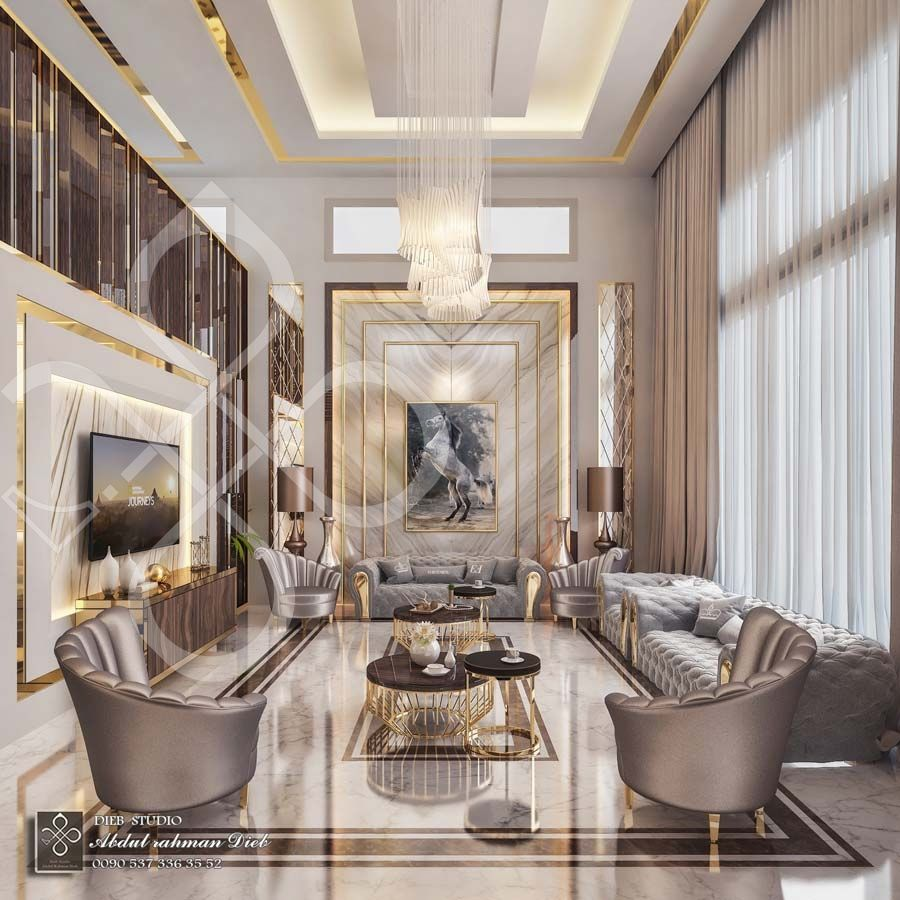 Entrance Hall With Seating Corner And Dining Room Ksa Luxury