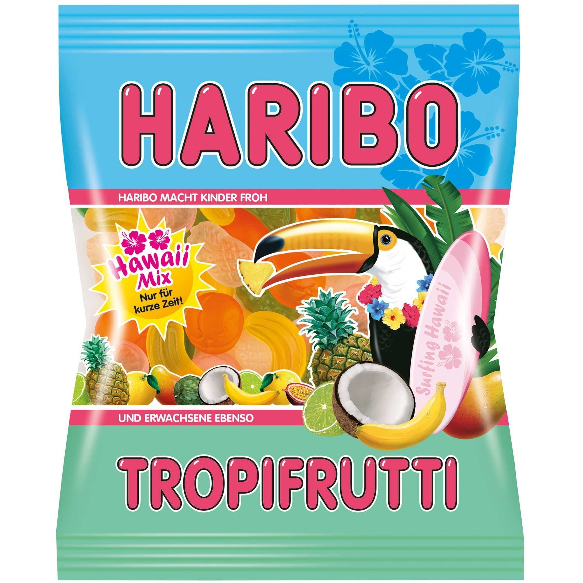 -in USA- Haribo Tropifrutti HAWAII Mix - Limited Edition - 200 g