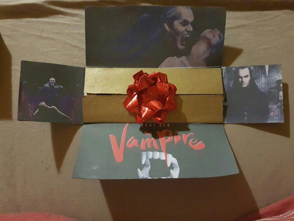 tanz der vampire theaterkarten verpackung geschenk kleine geschenke pinterest tanz der. Black Bedroom Furniture Sets. Home Design Ideas