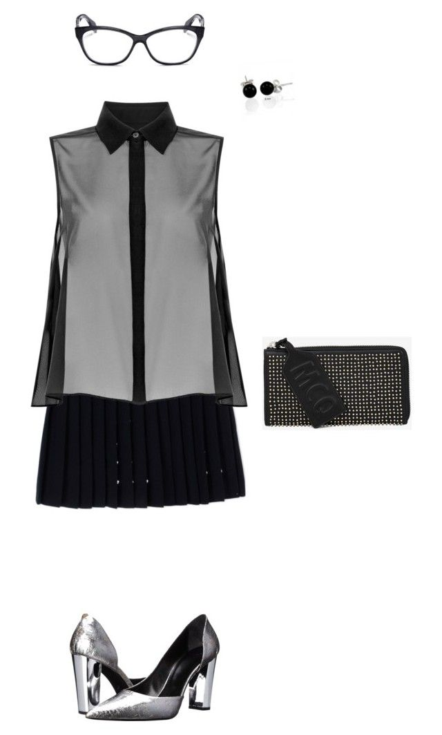 """""""What 60% of teachers use to wear"""" by rose-wilya ❤ liked on Polyvore featuring McQ by Alexander McQueen, Alexander McQueen, Bling Jewelry, women's clothing, women's fashion, women, female, woman, misses and juniors"""