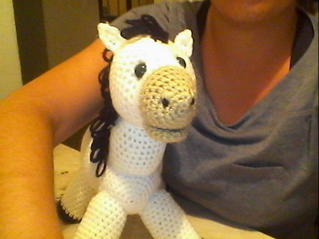 Amigurumis Caballitos A Crochet : Novedades jenpoali patron caballo amigurumi animalew