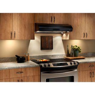 Broan Evolution 2 Series 36 inch Black Under-cabinet Range Hood ...