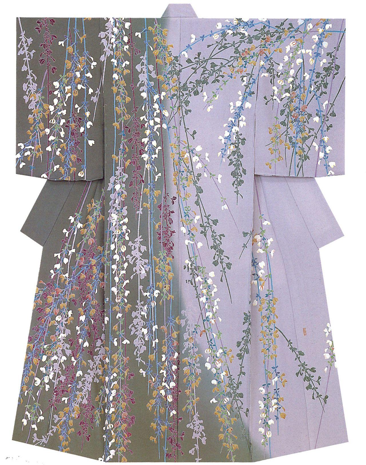 Kaga-Yuzen — Kaga-Yuzen Kimono Yuzo Miyano