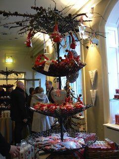negozio di regali durante il natale