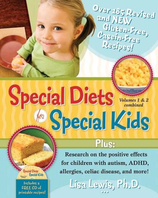Revised and combined edition of popular gluten free casein free revised and combined edition of popular gluten free casein free cookbook for kids forumfinder Images