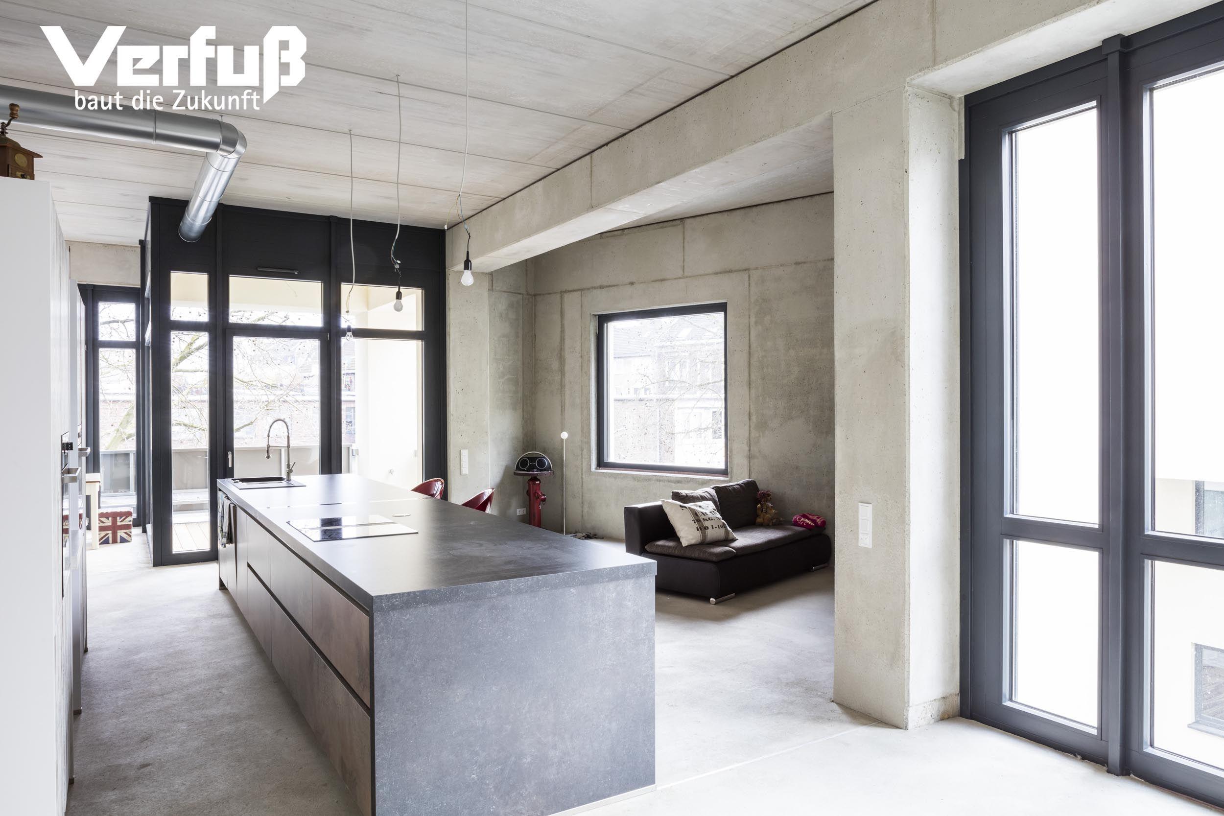 Loft Wohnung im Industriestil Umbau eines Industrieobjektes in ...