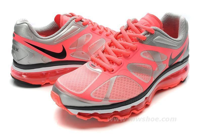 air max 2012 womens shoe blacksilverwine [Air Max 12005
