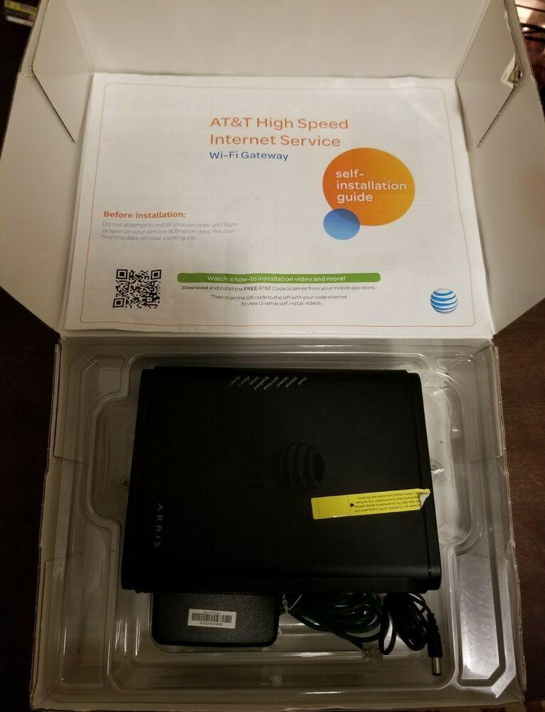 Motorola Nvg 510 At T U Verse Modem Gateway Wireless Router Att Modems Wireless Router Router