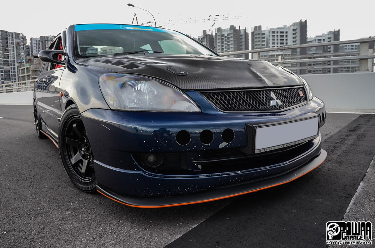 Powaa Garage Is A Blog About The Modified Car Culture In Singapore And Worldwide Lancer Cedia Mitsubishi Lancer Modified Cars