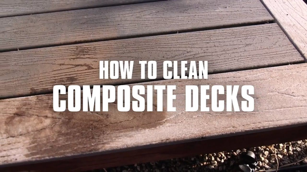 How To Clean Decking Before Staining Arxiusarquitectura