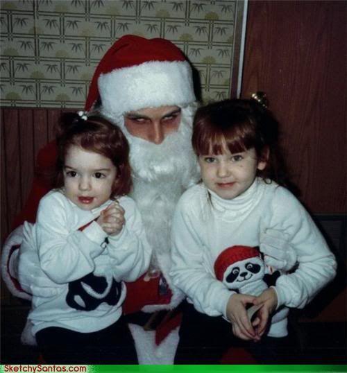 Image result for sketchy santa