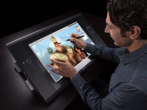 Display interativo Wacom Cintiq 24HD Pen & Touch - DTH2400
