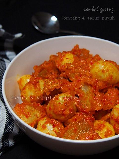 Memasak Dengan Bumbu Dasar Sambal Goreng Kentang Telur Puyuh Monic S Simply Kitchen Resep Masakan Indonesia Resep Masakan Kentang