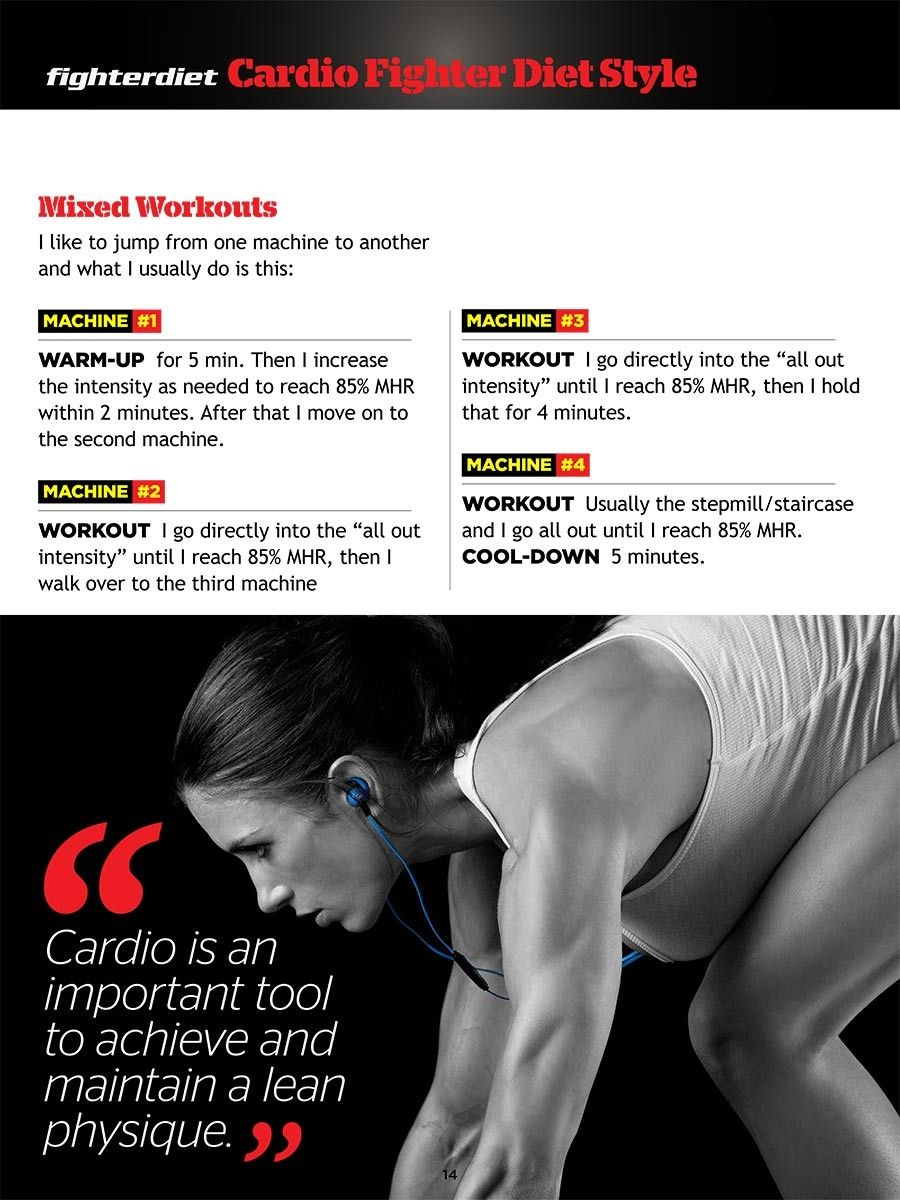 Cardio Fighter Diet Style Advanced Fighter Diet Fighter Workout Cardio