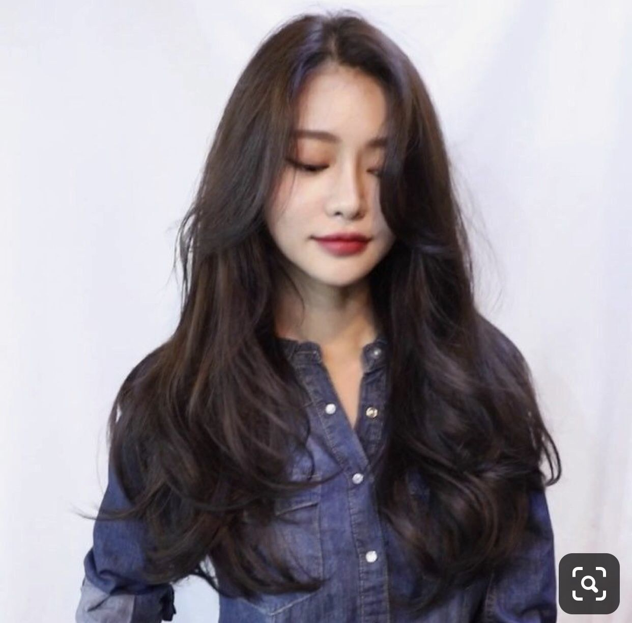 12+ Popular Korean Long Hairstyle 12 Image in 12  Long hair