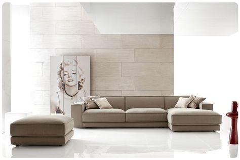divano moderno ditre color tortora | la casa dei sogni | Pinterest ...