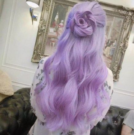Makeup Goals Tumblr Purple 45 Trendy Ideas Hair Styles Hair Color Pastel Ombre Hair