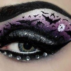 Unique Eye Makeup Designs | Halloween