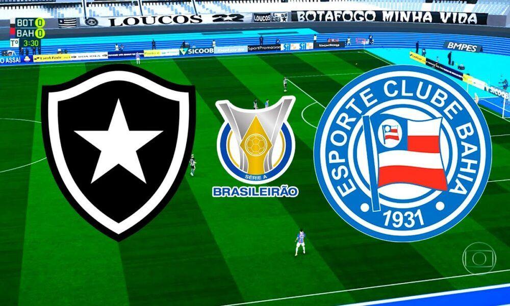 Assísta AGORA Botafogo x Bahia AO VIVO Transmissão Online