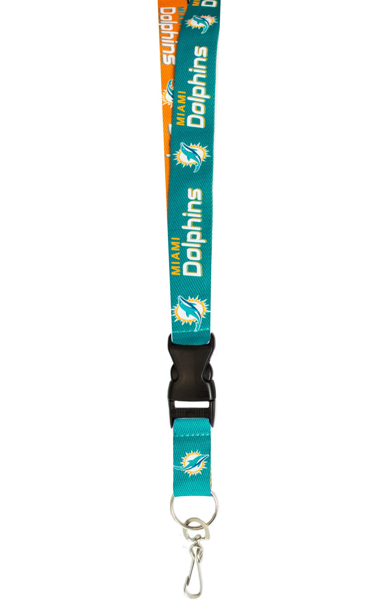 bb615de6 Miami Dolphins Lanyard - Two-Tone~backorder | Products | Miami ...