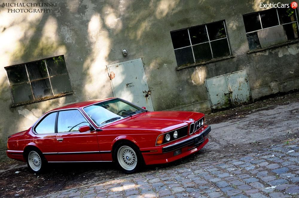 BMW M6 E 24 PAKIET HIGH LINE  Cars  Pinterest  Coupe BMW and
