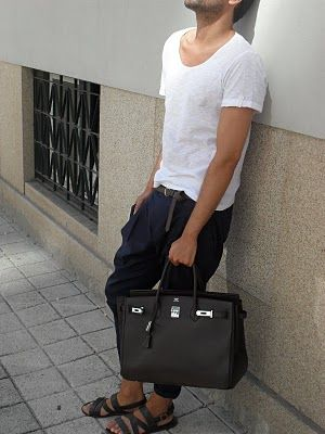 All Things Fashion Worthy: Hermés Birkin, for men? OBSESSED!