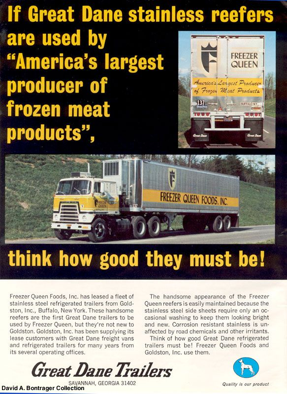 David A Bontrager Vintage Truck Advertising Literature