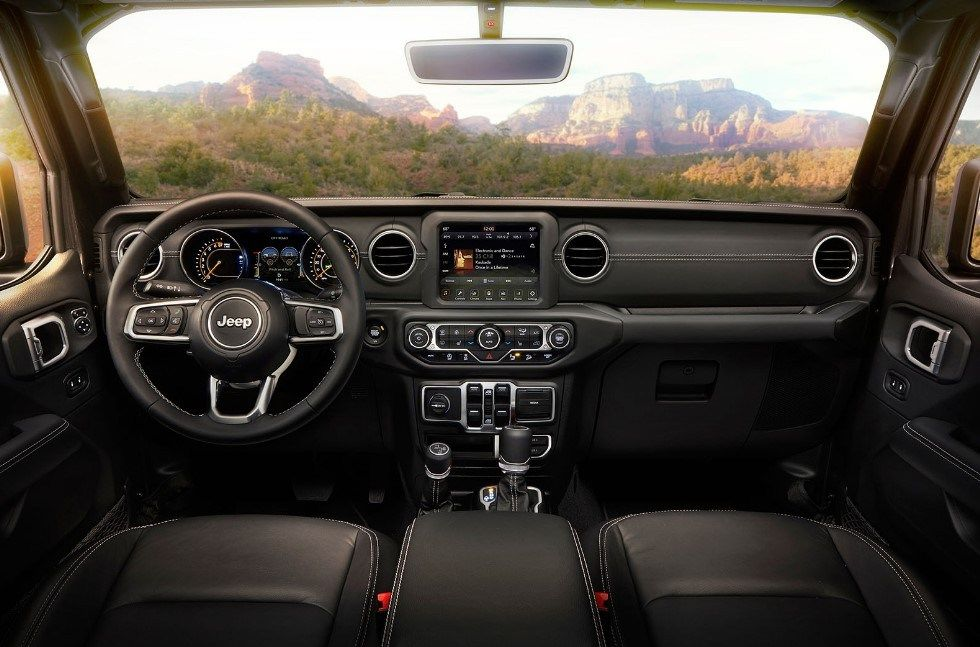 2019 Jeep Wrangler Sport 2 Door Interior