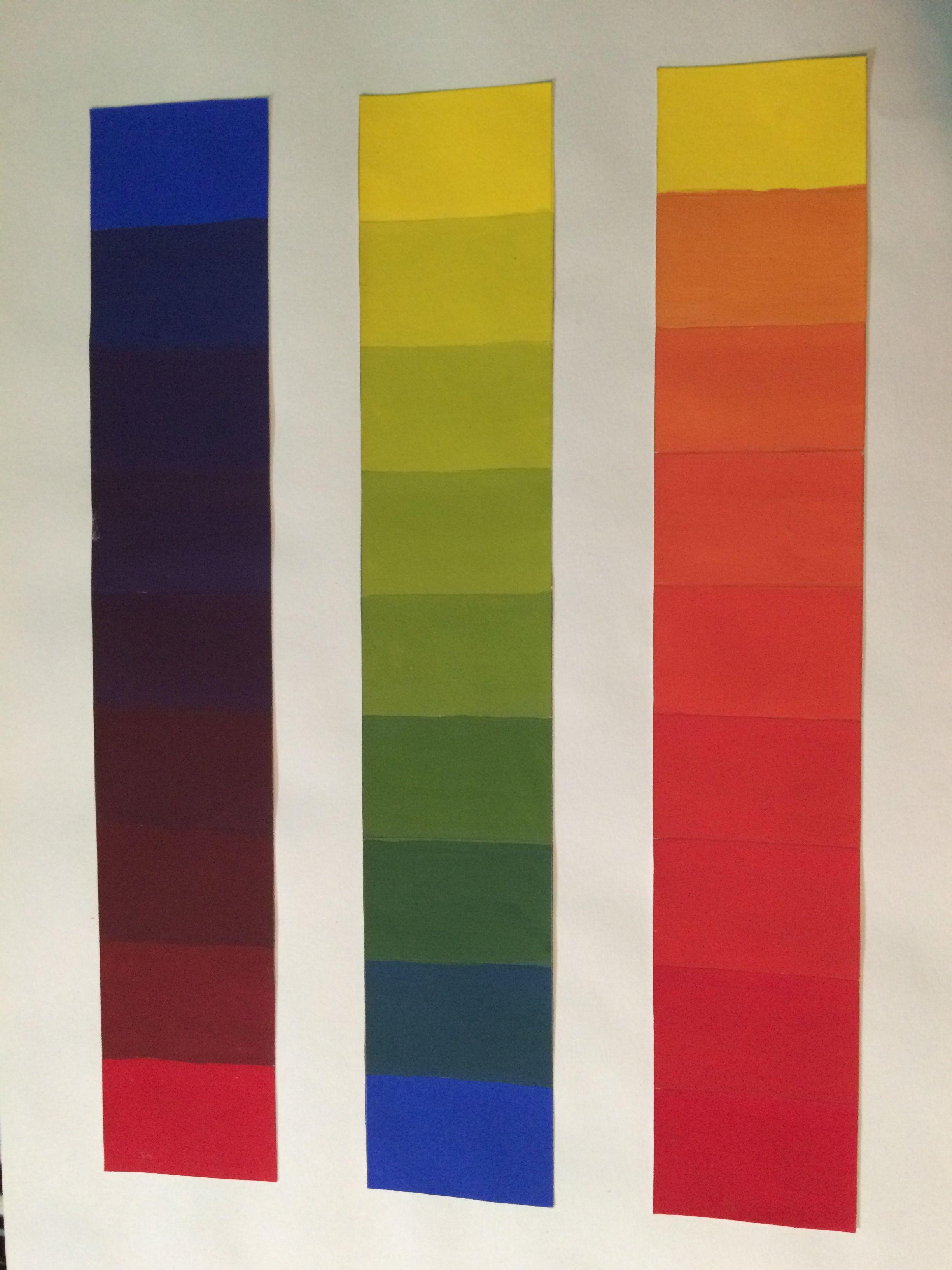 Degradacion De Color Teoria Del Color Dibujos Fondo De Pantalla Para Telefono Movil