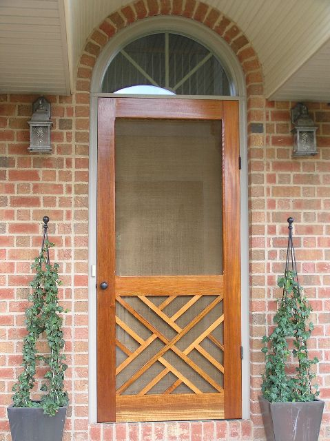 Greatest Traditional Screen & Storm Door | Chippendale Model | www  RU04