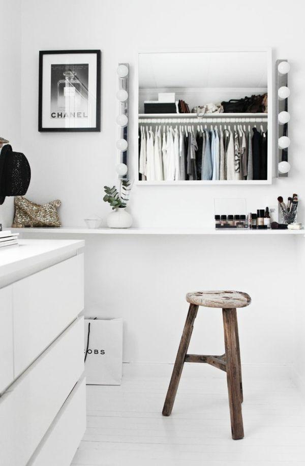 Diy Möbel Schminktisch Wandspiegel Mit Lichtquellen