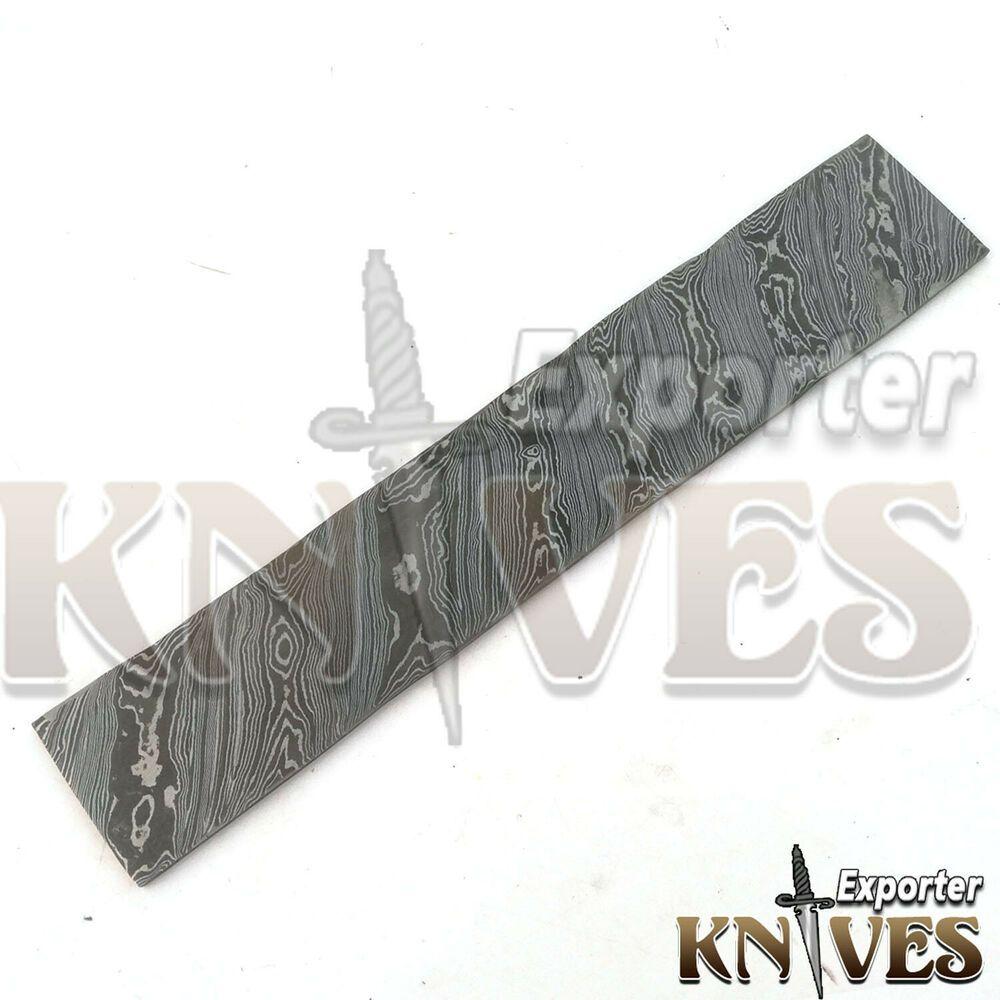 New Custom Hand Made Damascus Steel Twist Pattern Billet For Knife