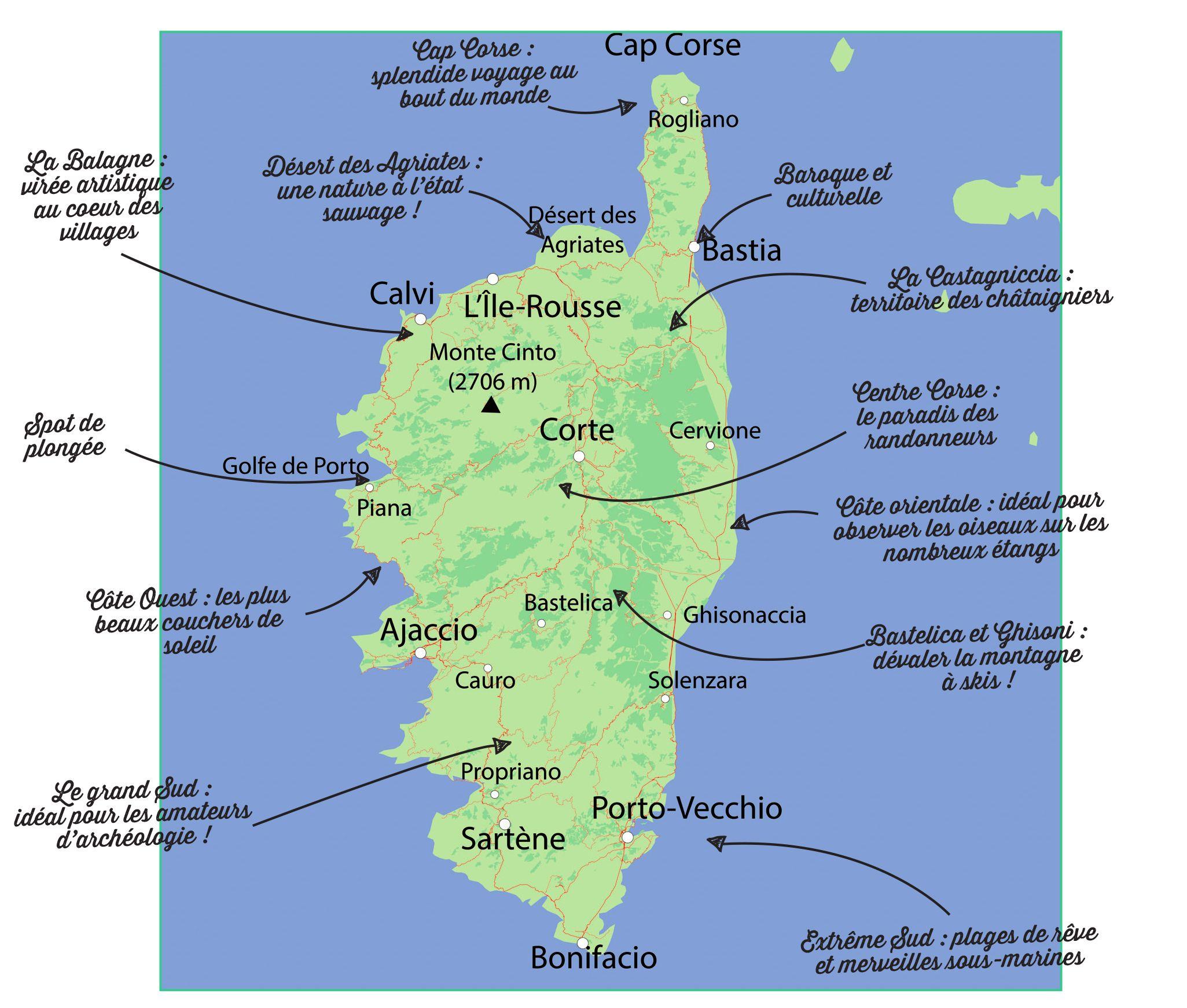 Carte De La Corse A Imprimer Ca81 Jornalagora Guide De Voyage