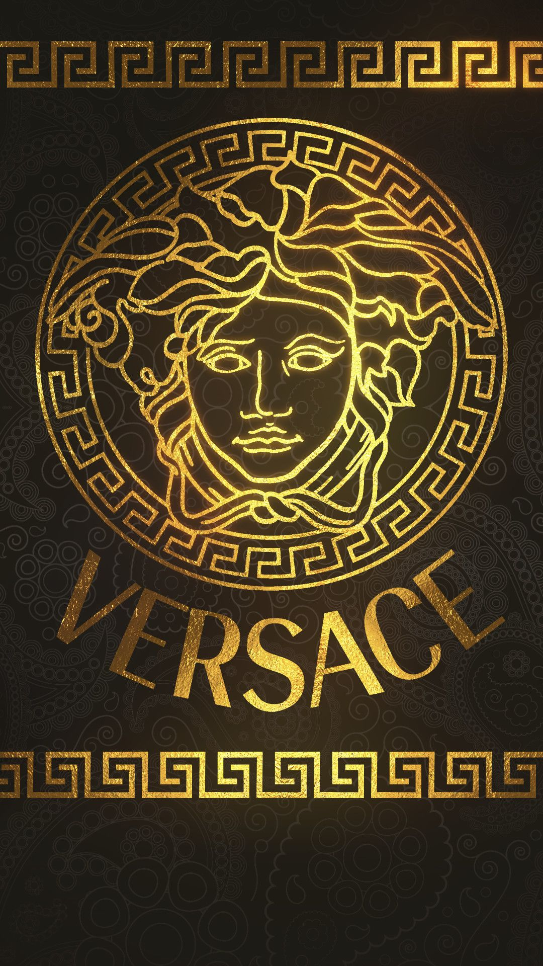 70 Versace Iphone Wallpapers On Wallpaperplay Swag Wallpaper