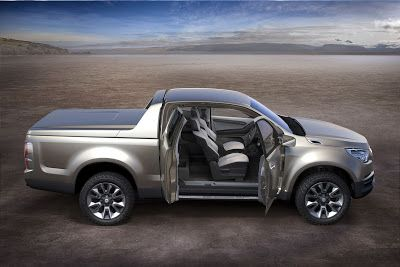 New Chevrolet Colorado Show Truck Unveiled Ahead Of Bangkok