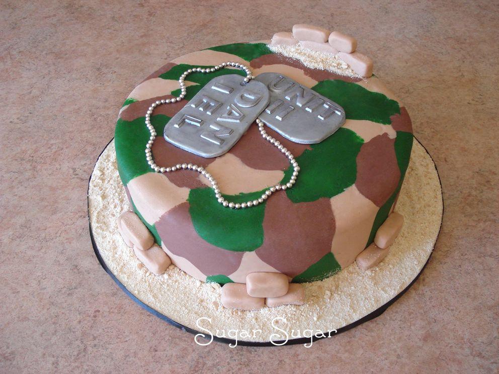 army camo cake - Google Search