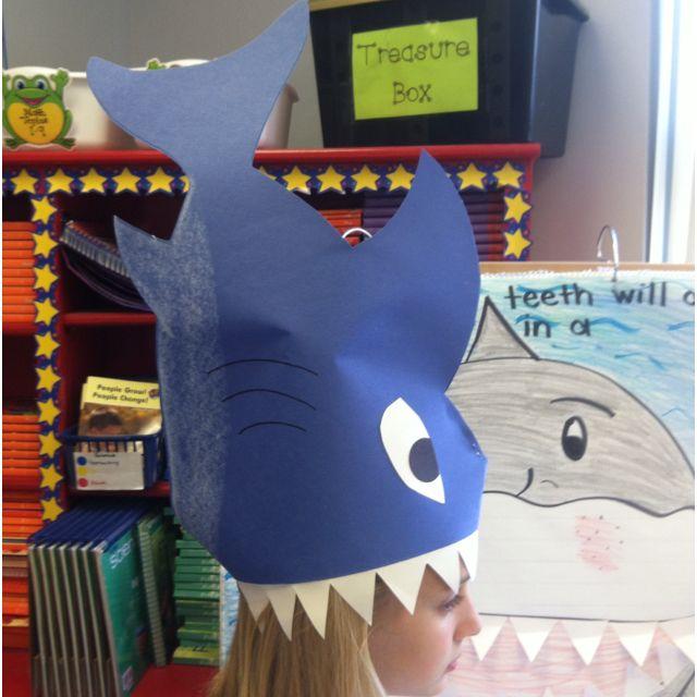 Classroom Dress Up Ideas ~ Shark hat ii ocean week classroom ideas pinterest