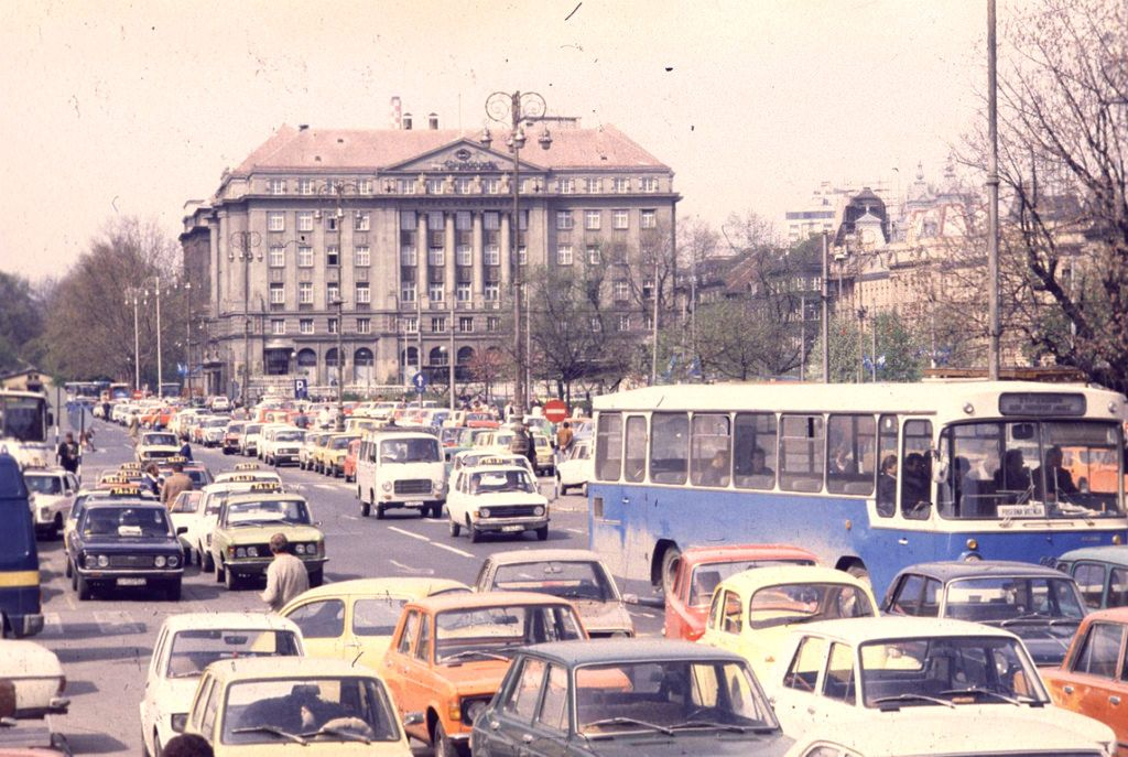 Zagreb 1980s Zagreb Croatia Old Photos