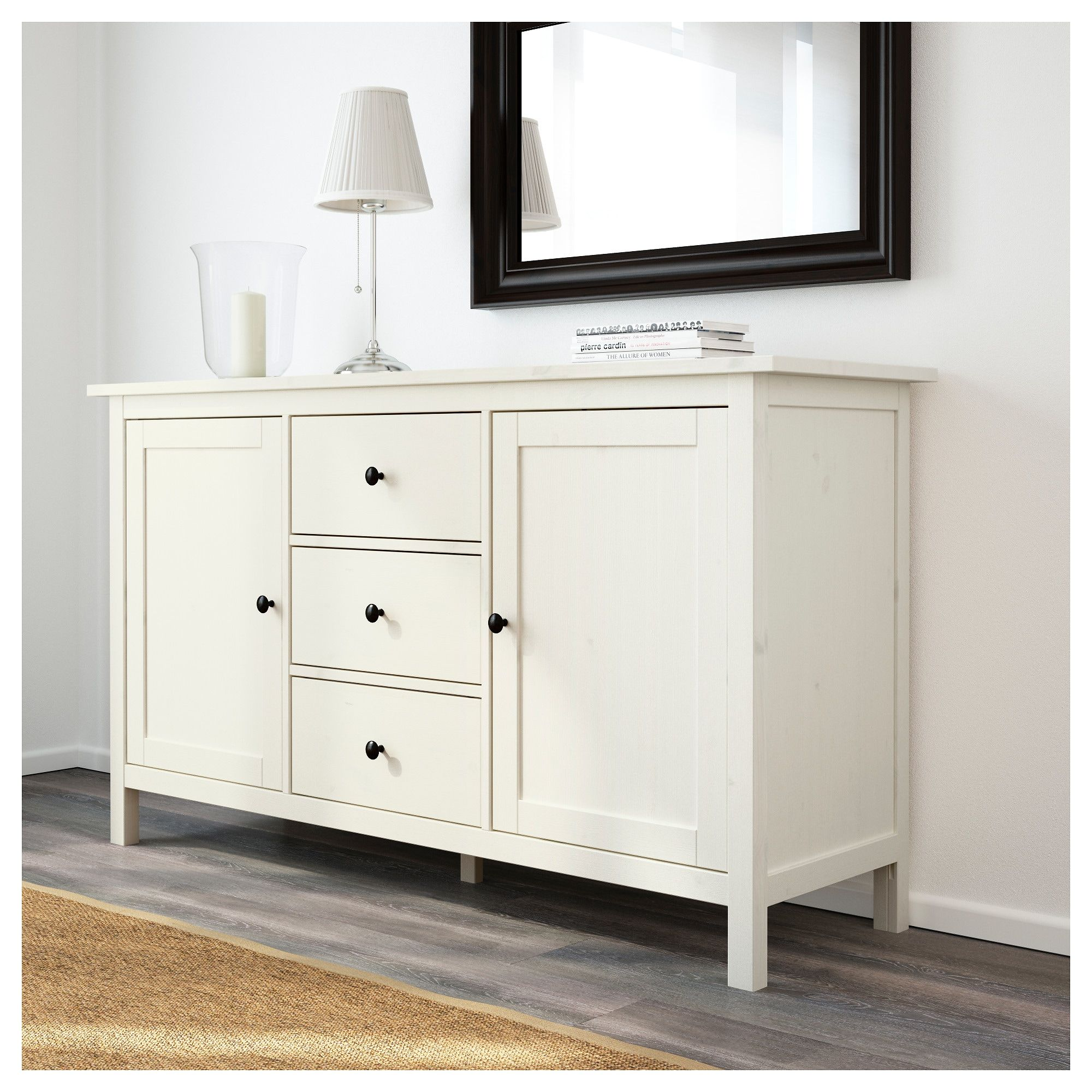 Hemnes Sideboard White Stain 61 3 4x34 5 8 White Sideboard