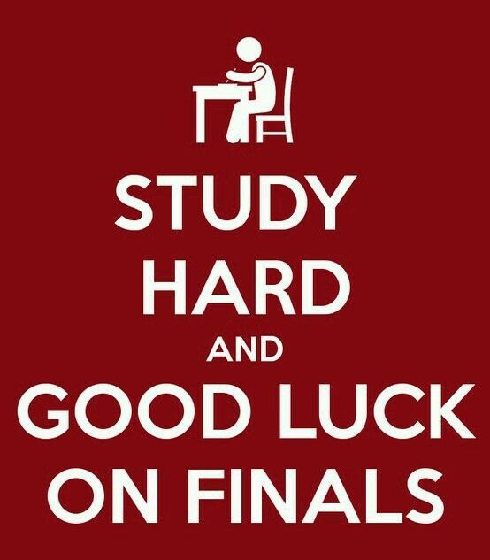 Study Hard Good Luck Wishes Pinterest College Student And